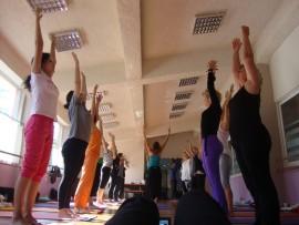 Backbends workshop, October 2012